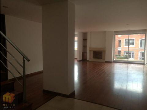arriendo apartamento duplex chico mf125