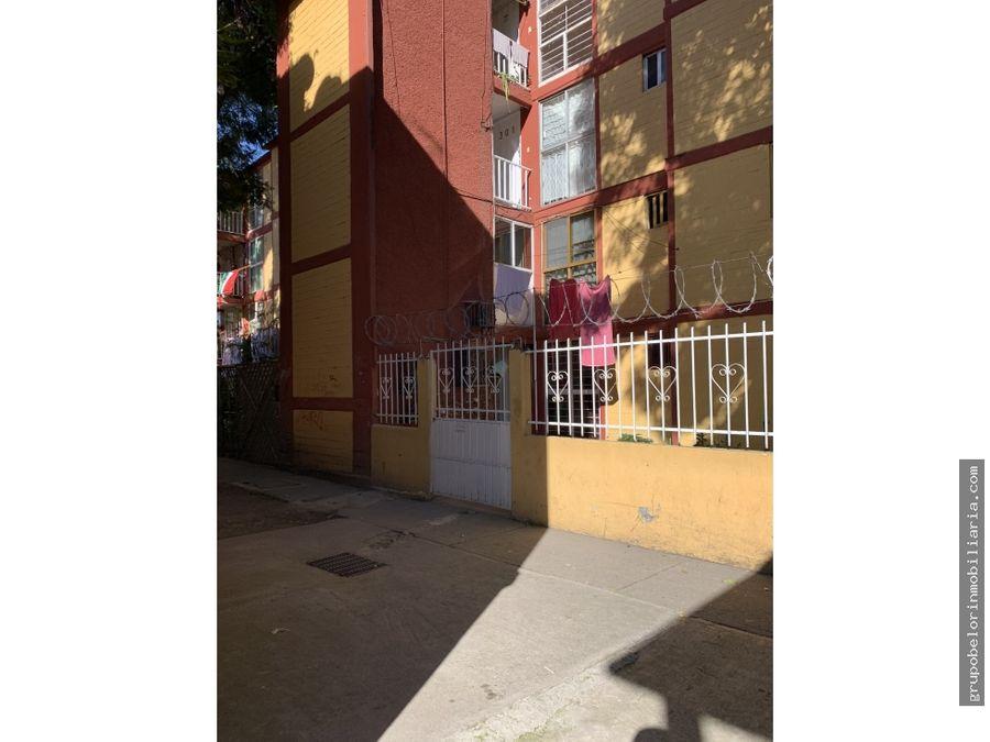 departamento en culhuacan excelente oportunidad de inversion