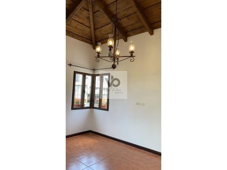 casa emiliana amueblada huertas de san pedro antigua