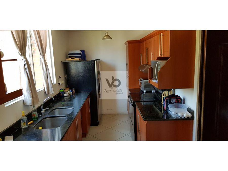 casa condominio la rotonda de kanajuyu zona 16