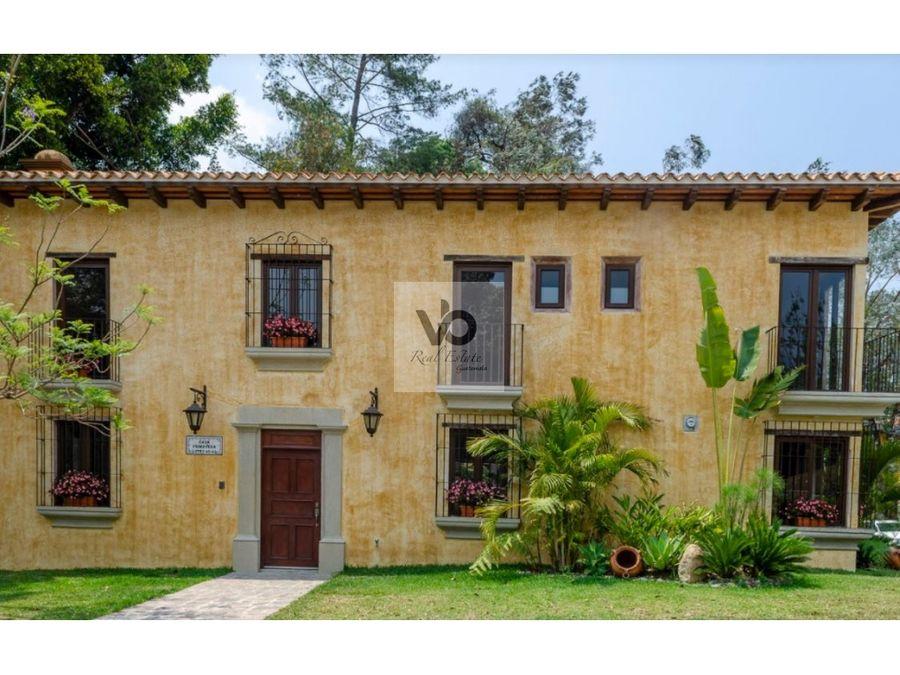 casa primavera antigua guatemala