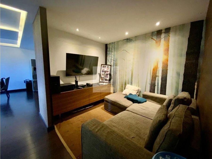apartamento attica i zona 14