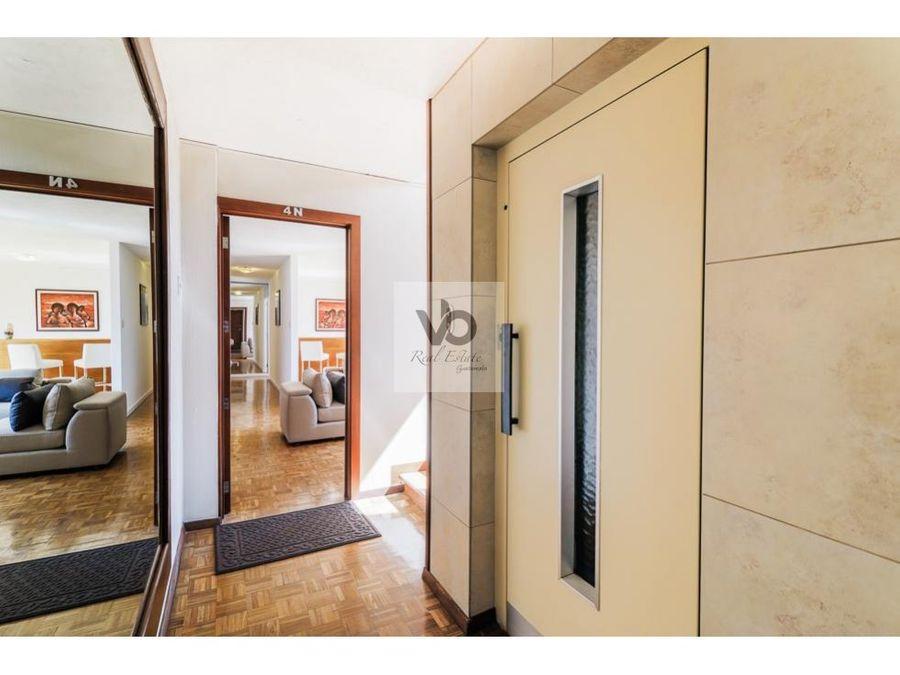 apartamento amueblado edificio cobira zona 13