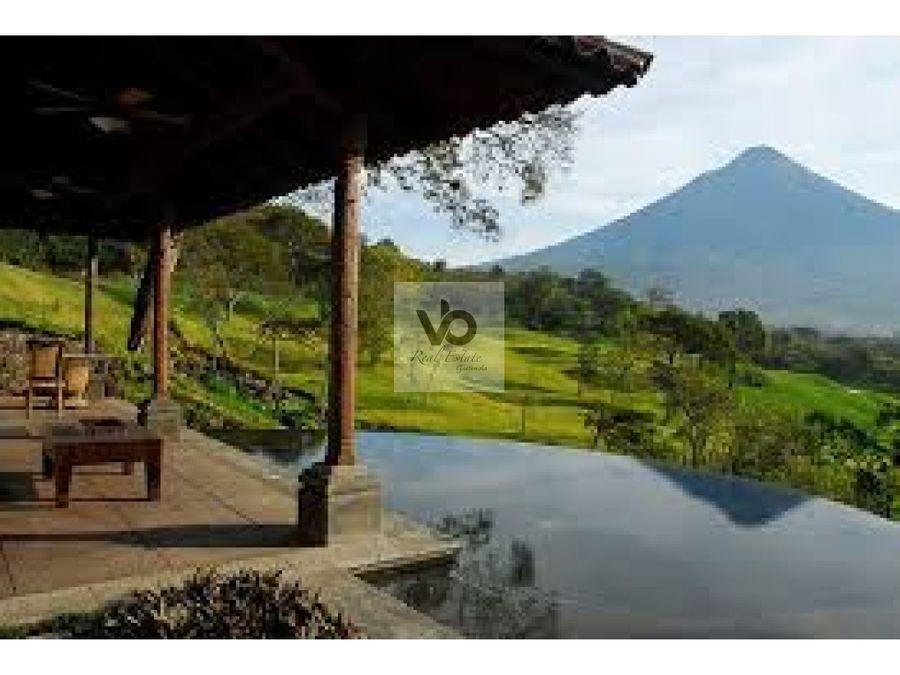 terreno en la reunion antigua guatemala