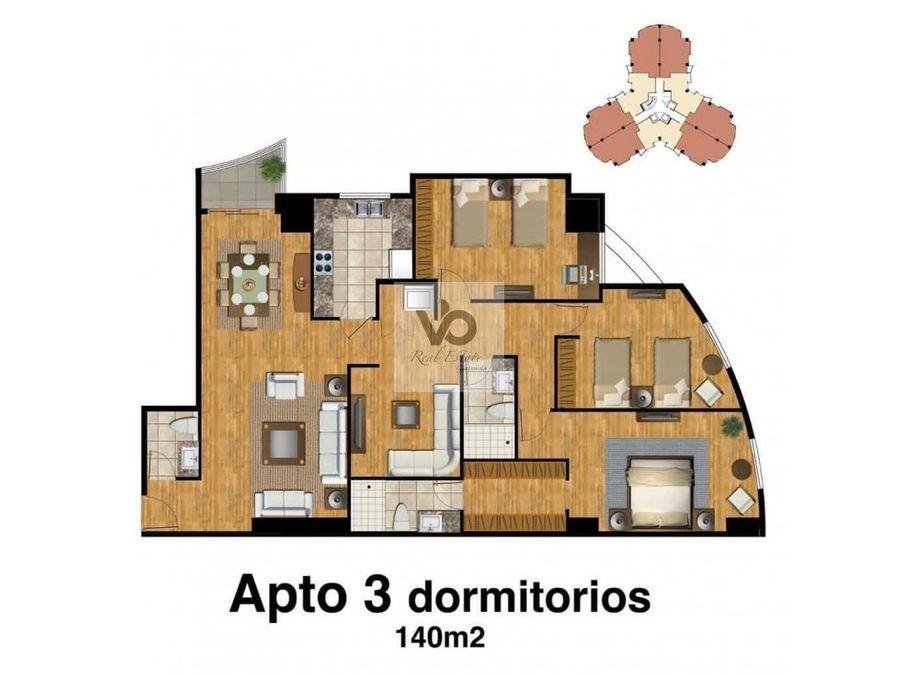 apartamento edificio attica i amueblado