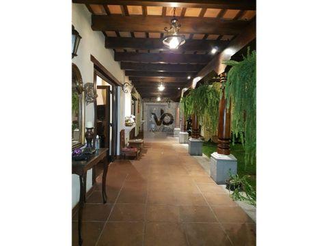 casa en alquiler amueblada hacienda san jeronimo antigua