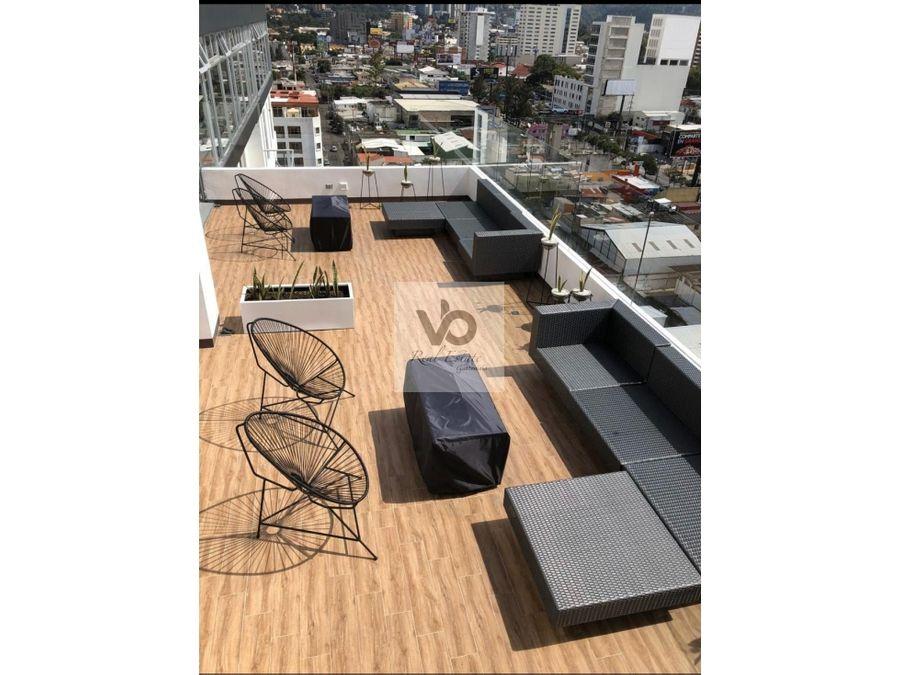 apartamento amueblado cityhaus zona 10