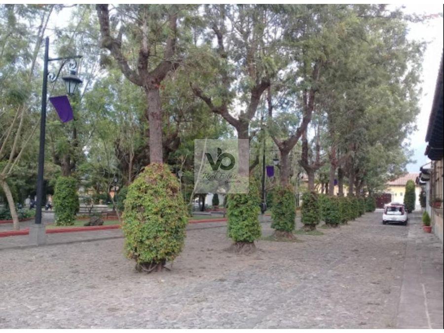 casacondominio hacienda san jeronimo antigua guatemala