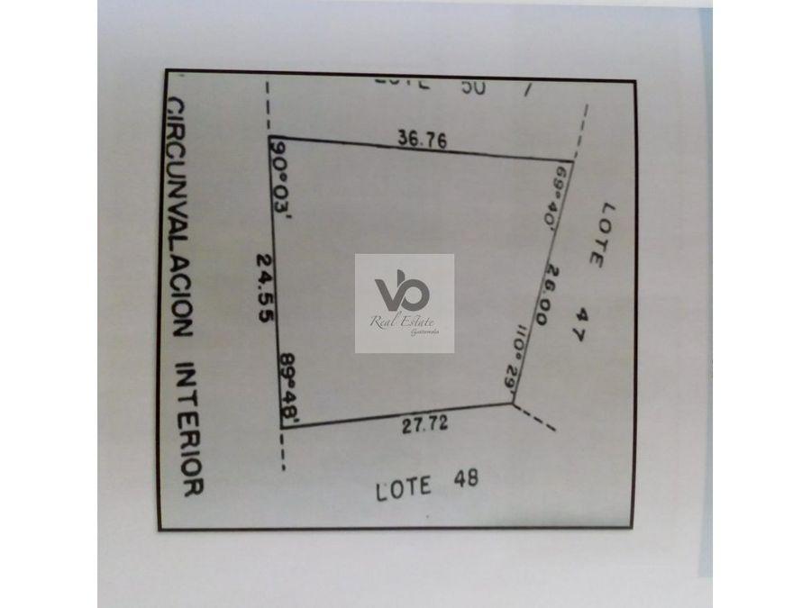 terreno g4 casa en 15ave zona 13