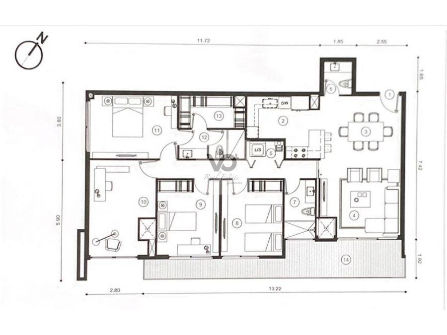 apartamento edificio triva zona 15 col el maestro