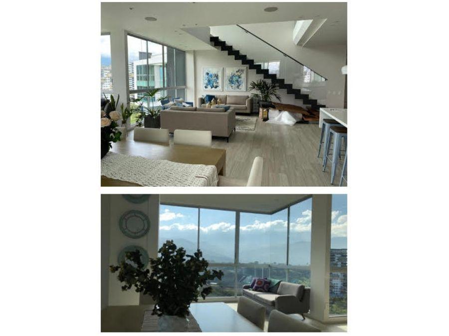 venta espectacular penthouse ph terra armenia
