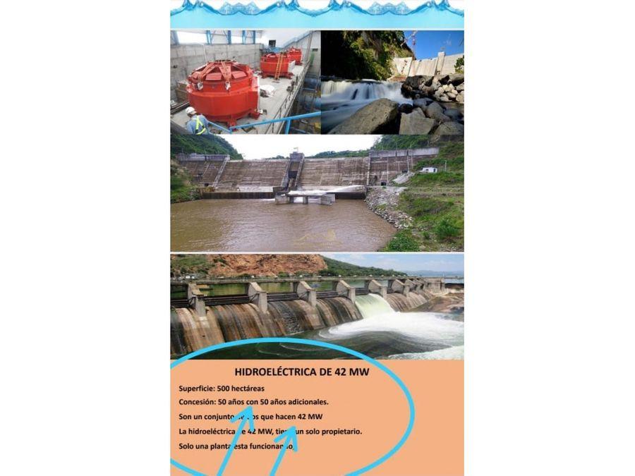 venta proyecto de inversion hidroelectrica
