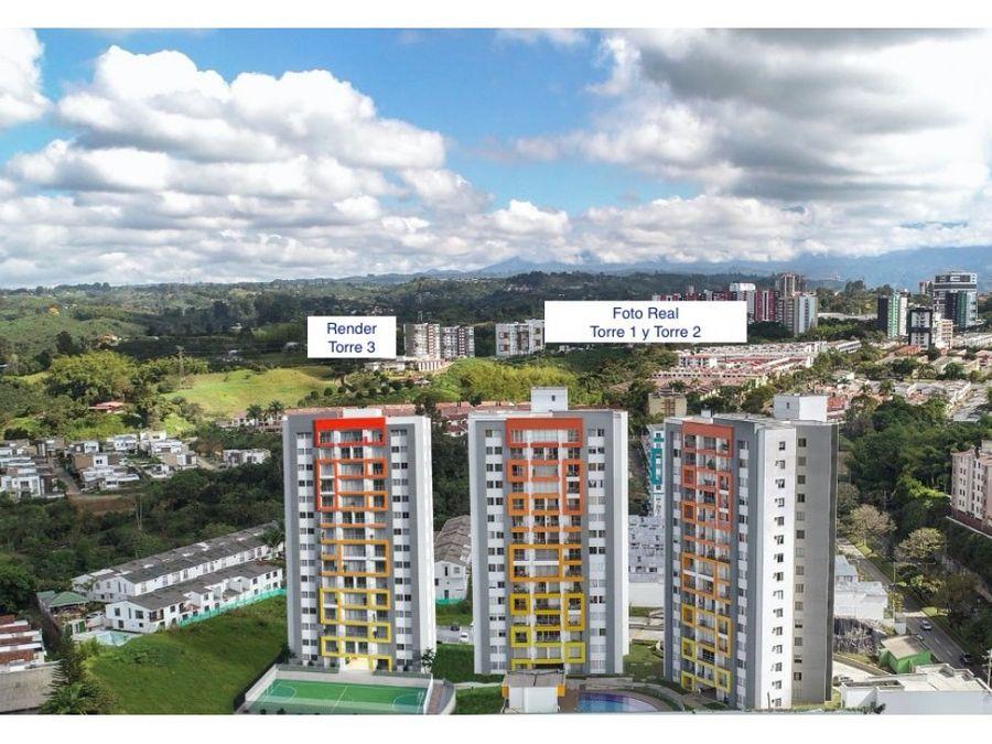 venta proyecto de apartamentos san juan de la loma armenia quindio