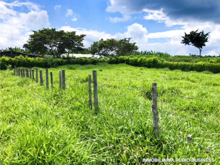 venta de terreno para desarrollo turistico quimbaya quindio