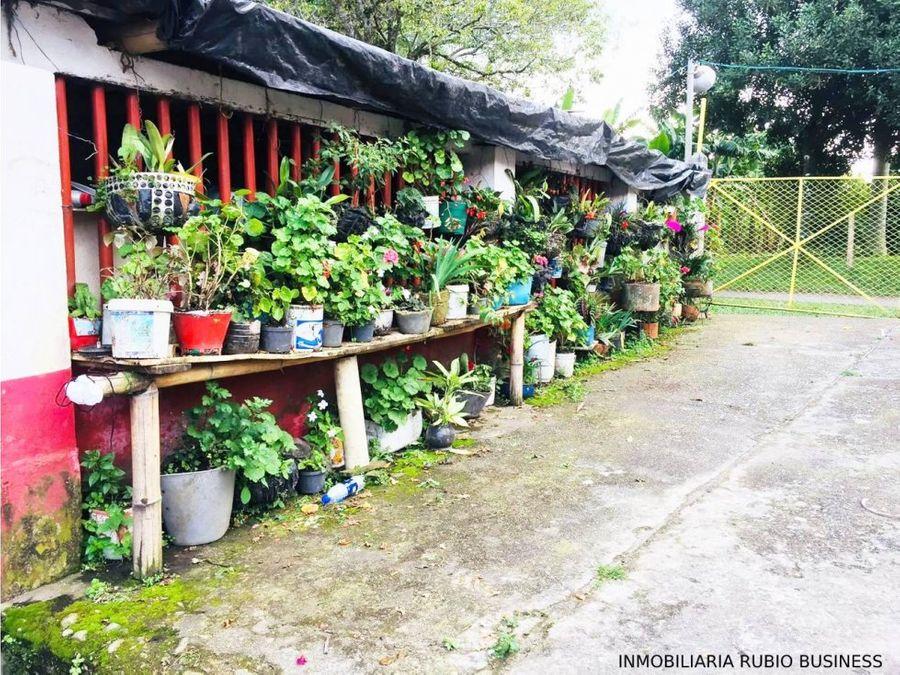 venta de finca en calarca quindio ideal para desarrollo turistico