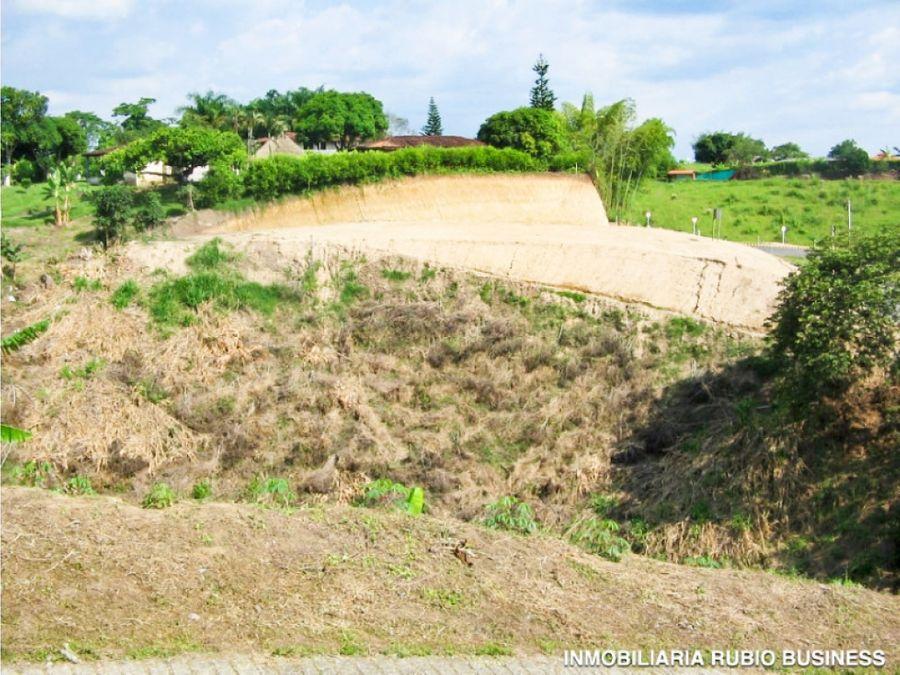 oportunidad venta de terreno plano en alcala valle via quimbaya