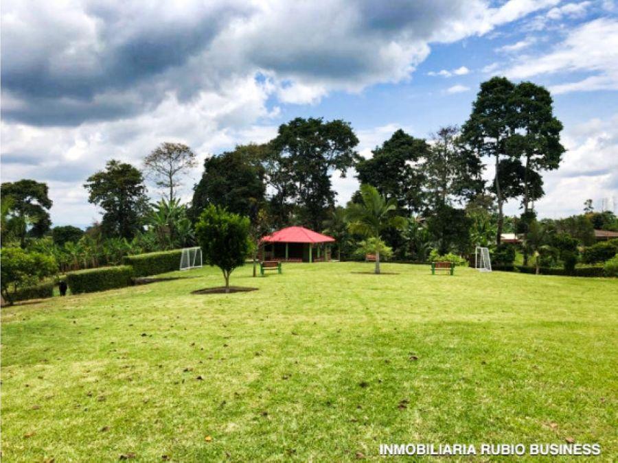 venta de terreno en vereda naranjal quimbaya quindio