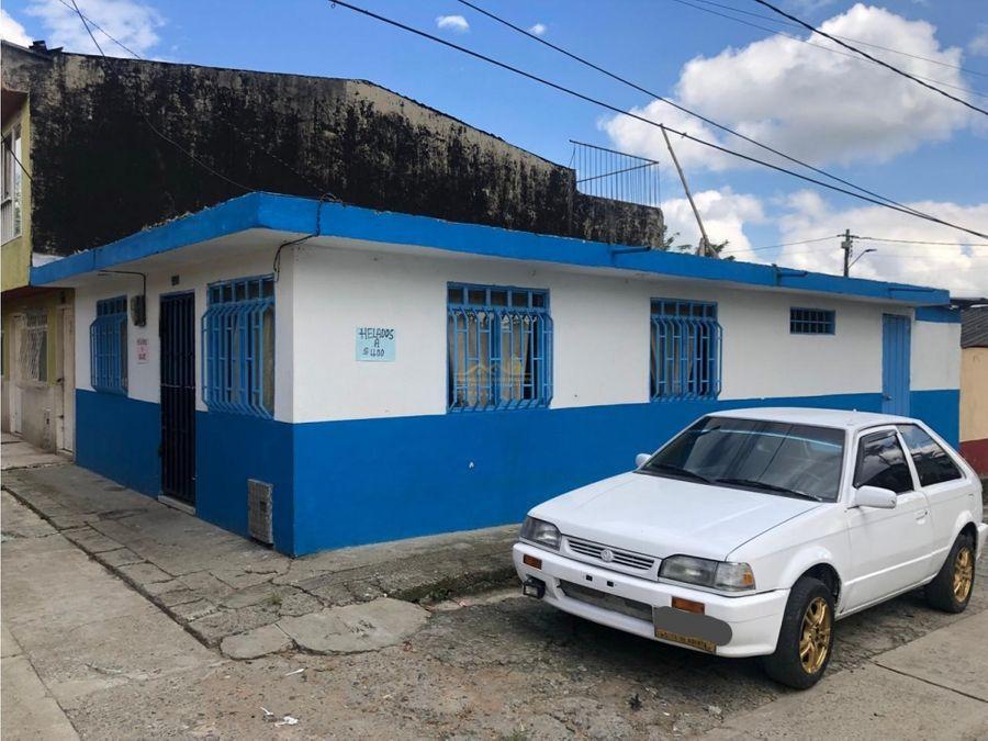 venta de casa esquinera quimbaya quindio