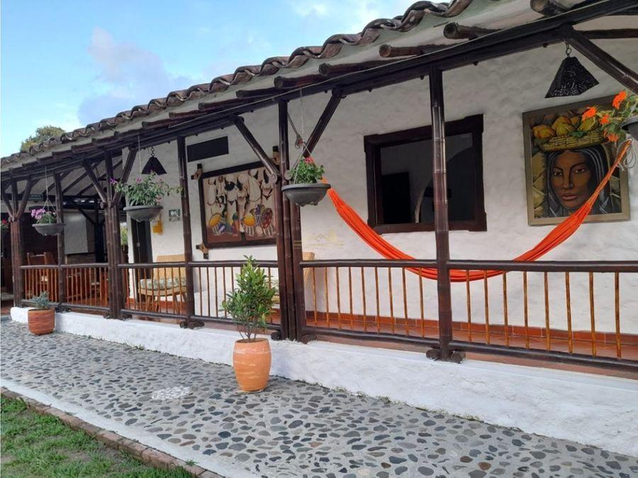 finca turistica santa cruz de las palmas quimbaya alquiler por dias