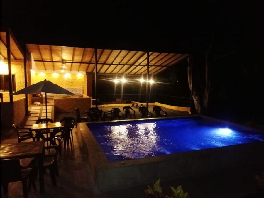 alquiler finca turistica por dias villa flor quimbaya quindio