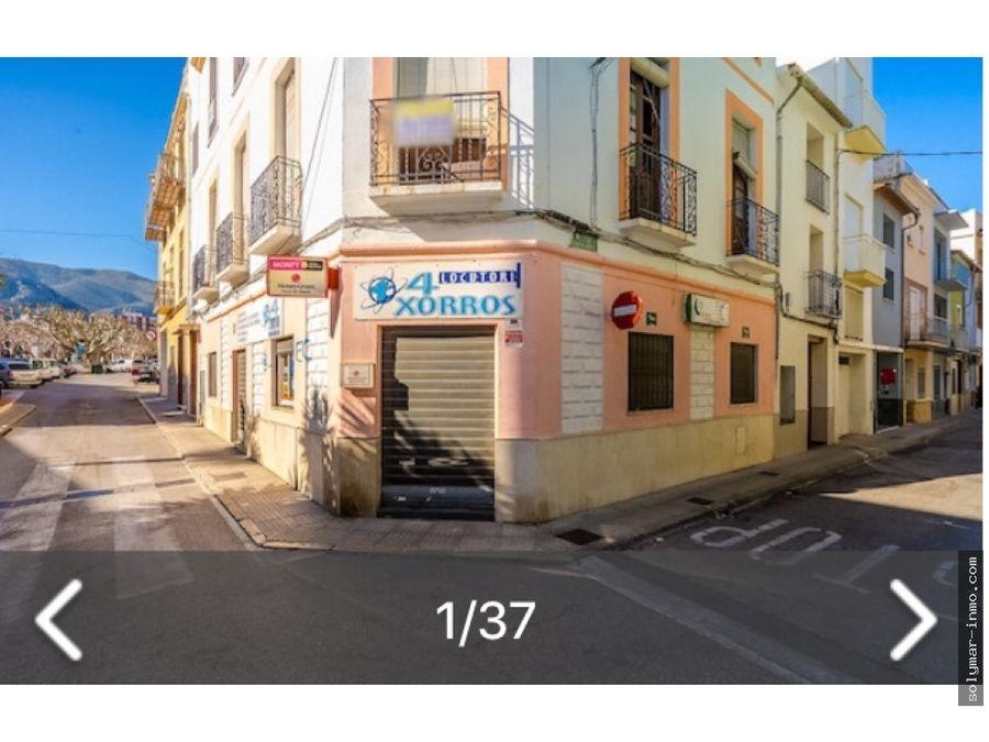 venta casa de pueblo con local comercial