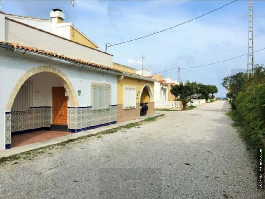 venta casa en la playa en denia