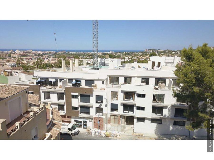 venta piso de nueva construccion en denia