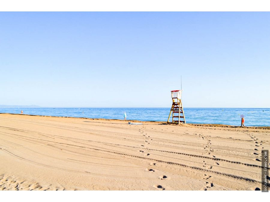 venta chalet 1o linea de playa