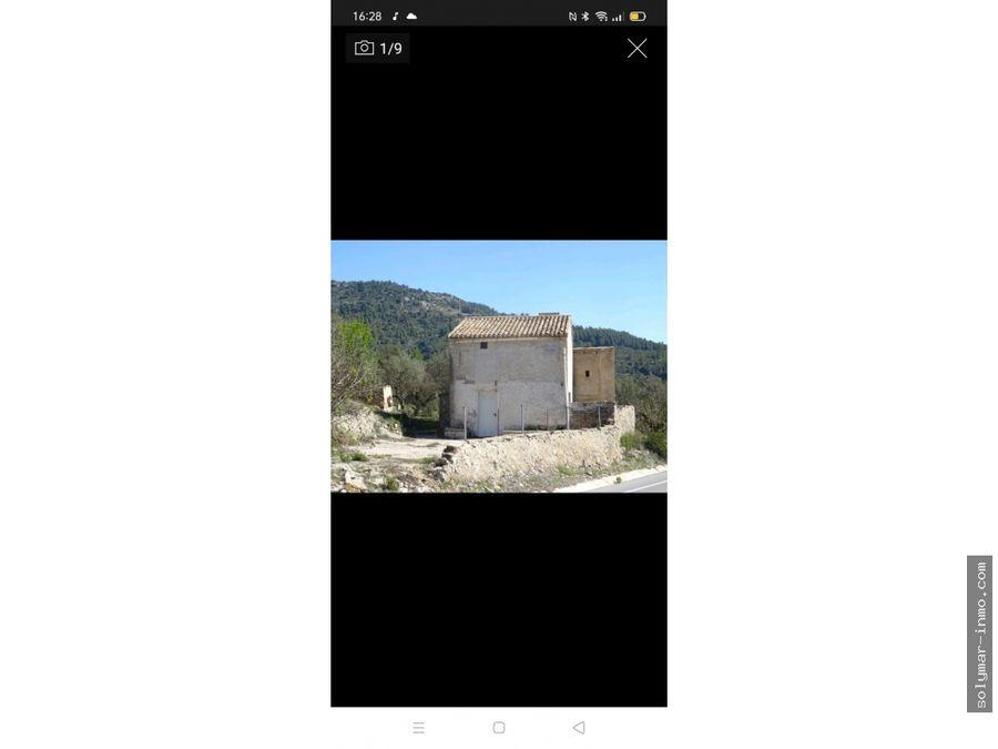 venta casa de campo en castell de castell