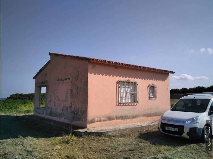 venta parcela rustica con casita