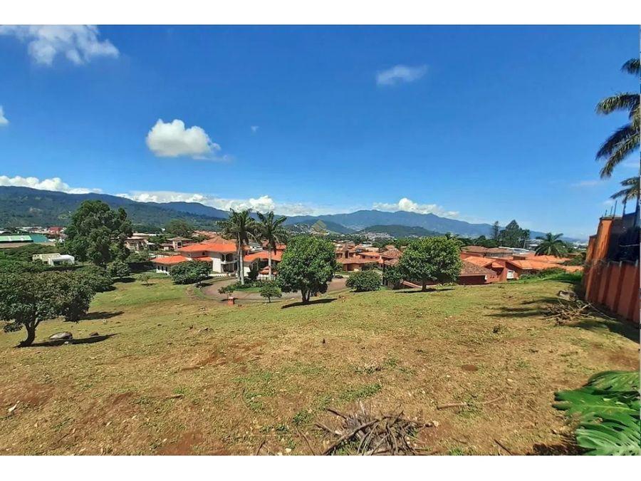venta lote residencial en curridabat colinas de montealegre