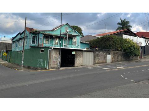 venta de terreno con uso mixto barrio aranjuez el carmen san jose