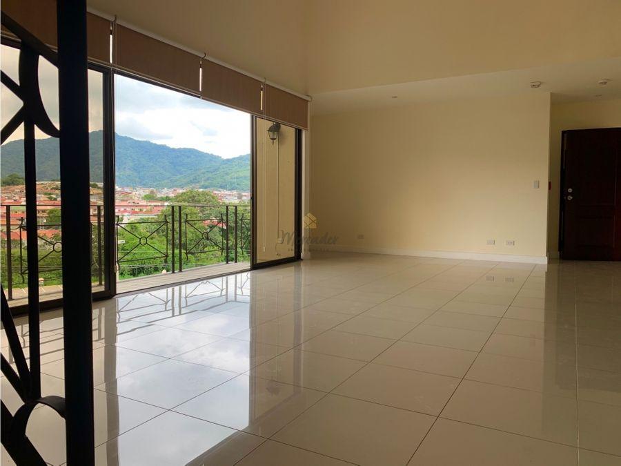 alquiler apartamento penthouse en curridabat lomas de ayarco