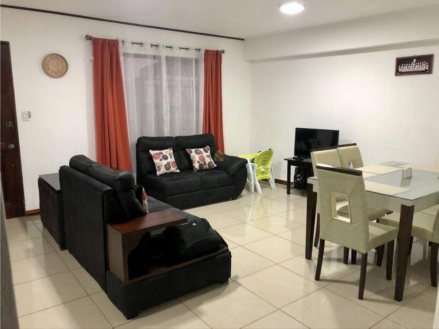 venta de casa de un nivel en condominio moravia