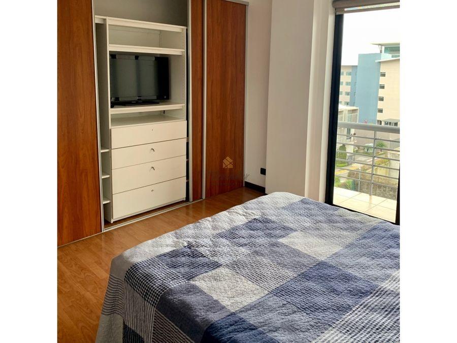 alquiler apartamento amoblado en torre trejos montealegre escazu