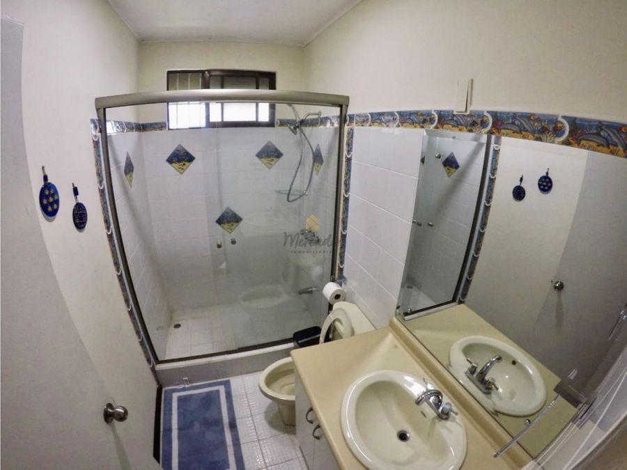 alquiler apartamento amoblado en condominio barrio dent san pedro