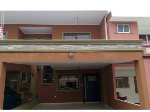 alquiler casa nueva en condominio concepcion tres rios