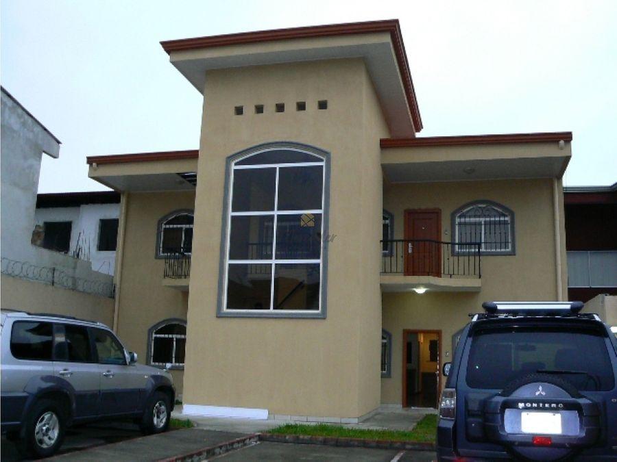 alquiler de apartamento en residencial 3 hab santa ana pozos