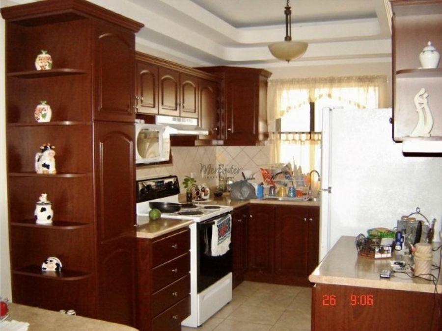 venta casa de 1 nivel en residencial concepcion tres rios