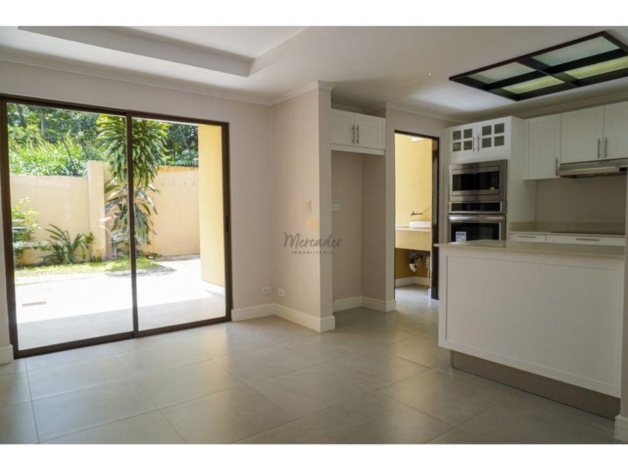 alquiler casa en condominio 3 hab villas de ayarco curridabat
