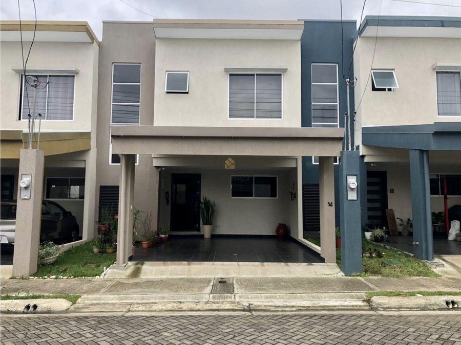 venta de casa en condominio san pablo heredia