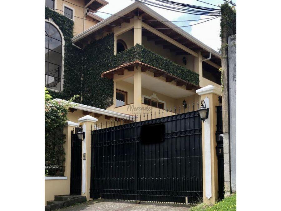venta casa en pinares curridabat en condominio