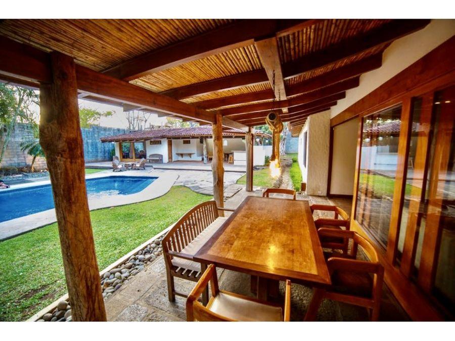 venta de casa tipo hacienda en san rafel de alajuela ojo de agua
