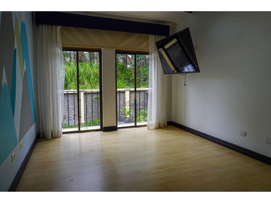 alquiler casa de lujo en condominio san juan tres rios