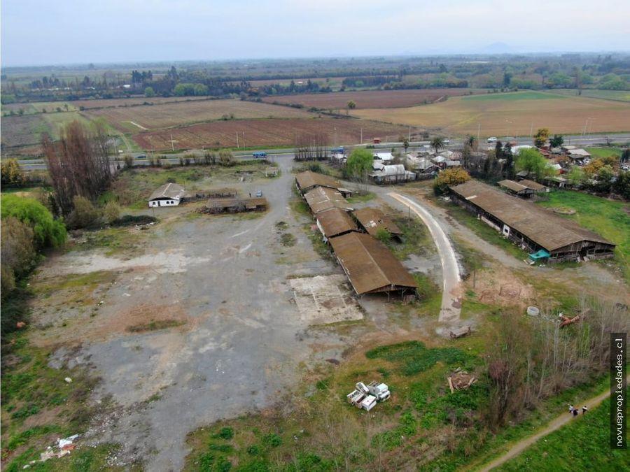 arriendo propiedad industrial 2 ha
