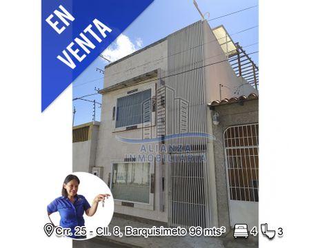 casa con local en el este de barquisimeto edo lara