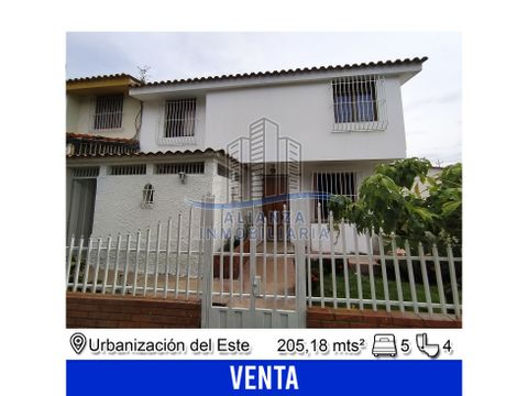 casa en urbanizacion del este barquisimeto edo lara
