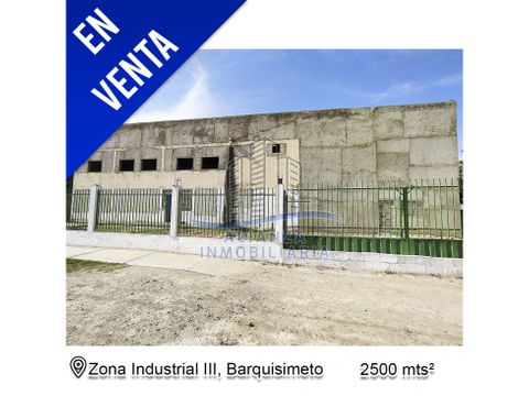 galpon en zona industrial 3 barquisimeto edo lara