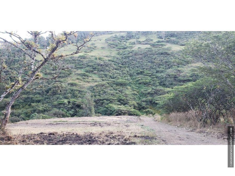 vendo terreno en yunguilla precio 1500 el metro