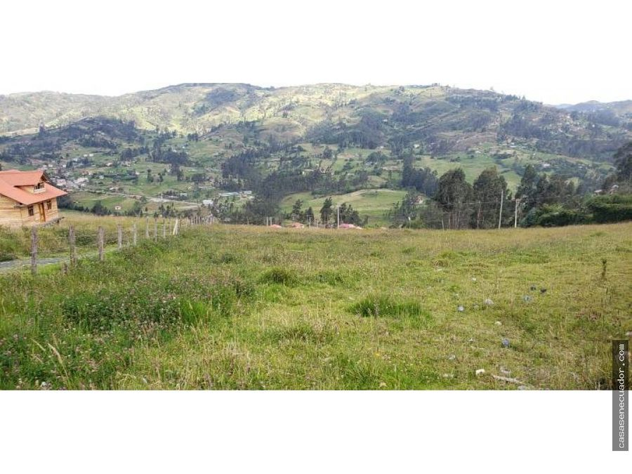 vendo terreno de 4500 mts sector zhidmad en santa ana 97000 neg